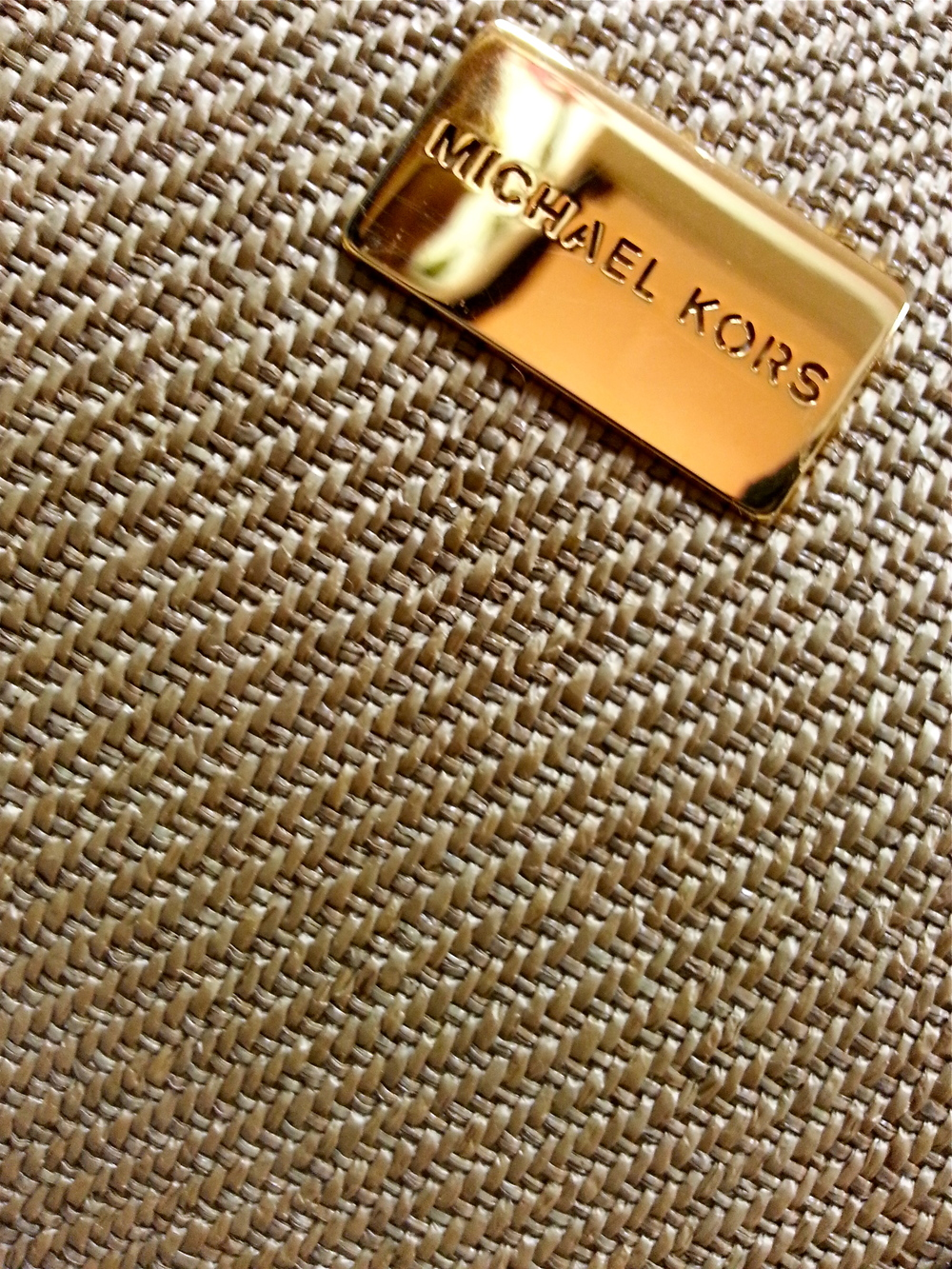 Michael Kors purse detail
