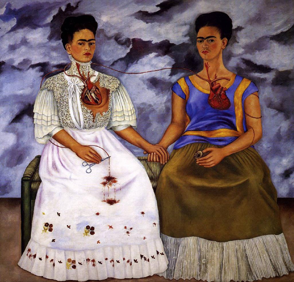 """Frida Kahlo- """"Two Fridas"""""""