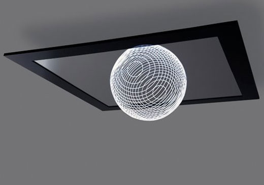 LED Light fixture designed by   Marcus Tremonto.