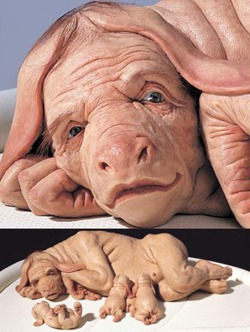 Patricia Piccinini, The Young Family.