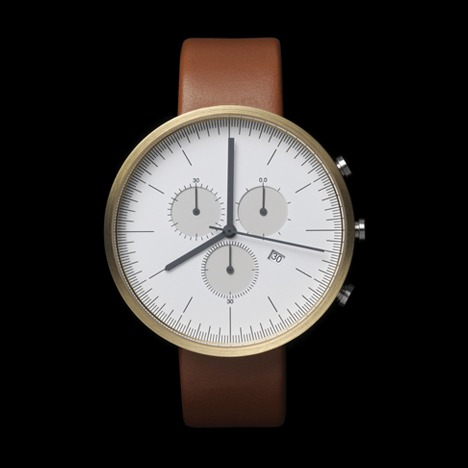 The new chronograph watch by London brand  Uniform Wares.