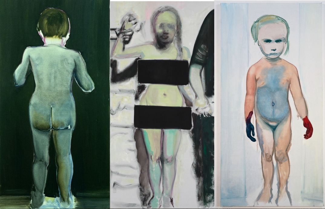 Marlene Dumas . She has always been one of my favorite painters.