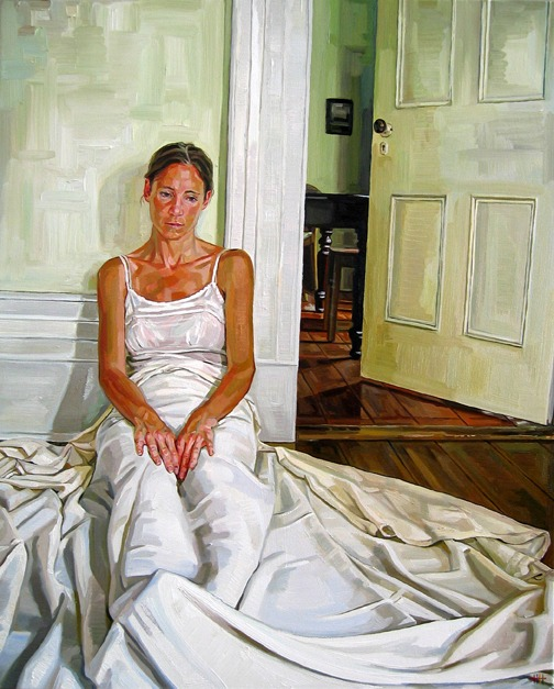 Heather Horton,  Gayle with Sheet