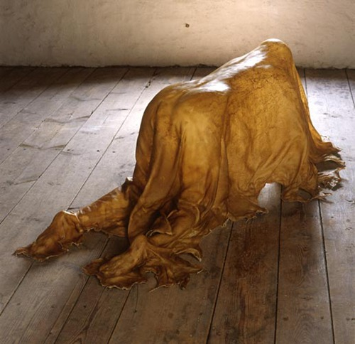 Janine Antoni,  Saddle, tanned cowhide, 2000