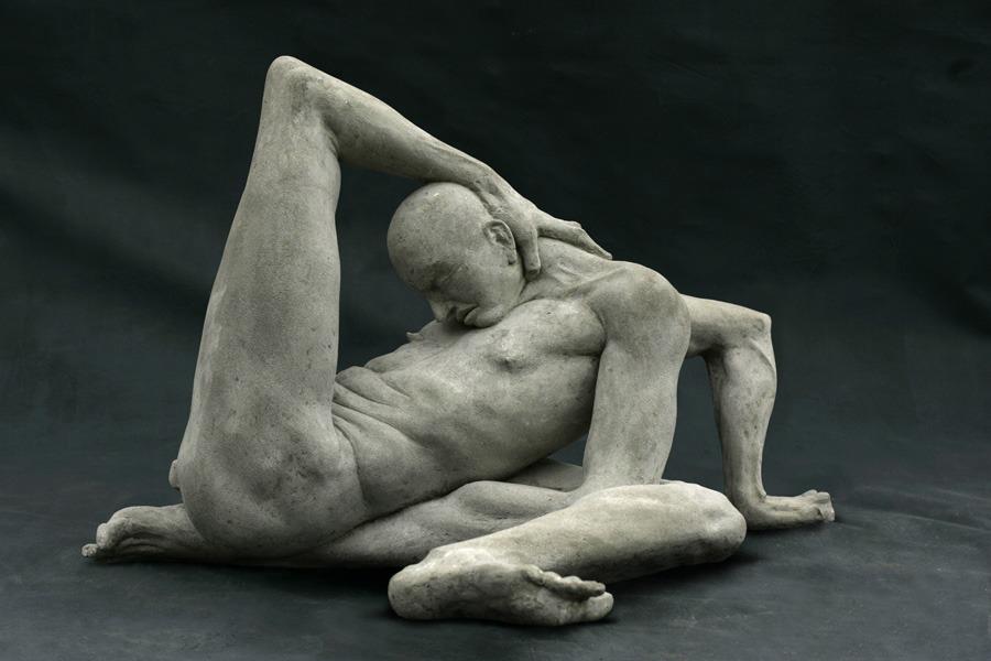 Emil Alzamora - Mascochist, gypsum, 2004