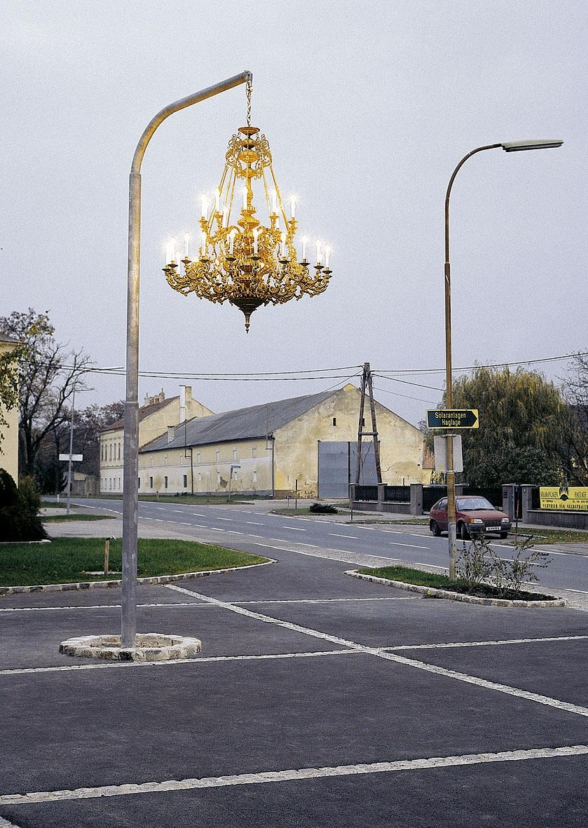 Street Chandelier, by Werner Reiterer