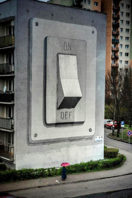 On/Off Mural  |  Escif