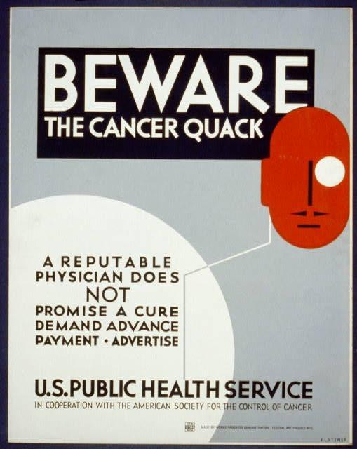 WPA  poster, 1936-1938