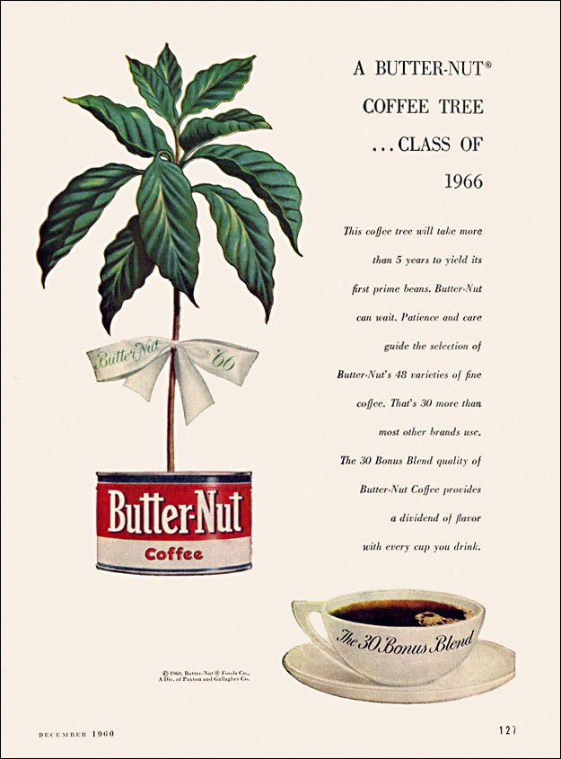 mudwerks :     Butter-Nut Coffee Ad, 1960 (by  alsis35 )