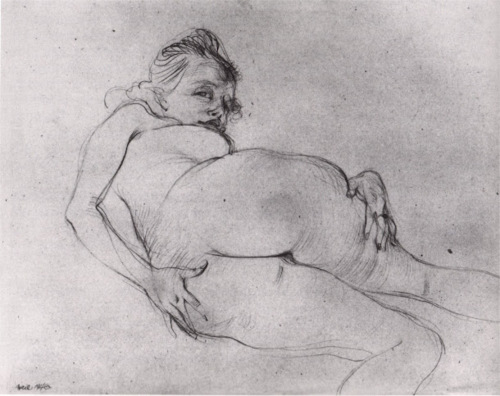 lamelancoly :     Hans Bellmer- Portrait of Nora Mitrani 1946