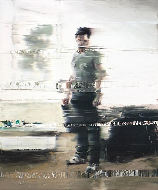 Andy Denzler ,Destination, 2011, Oil on canvas 180 x 150cm