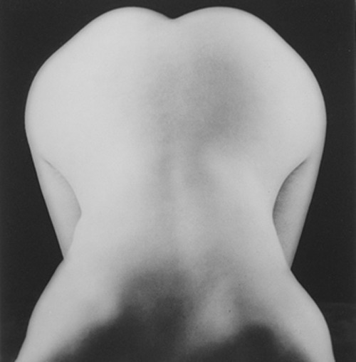 Lee Miller - Nude bent forward, about 1930