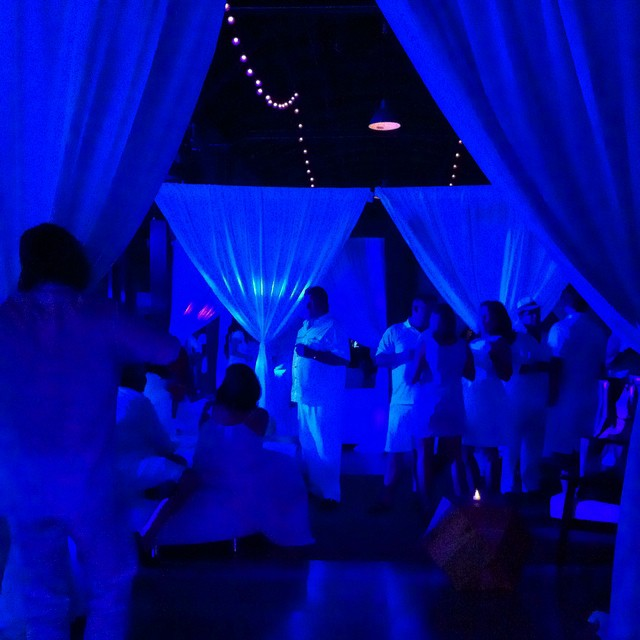 Hanging out with #Obama 's #DJ and a bunch of crazies dressed in #white . #WhiteParty #LifeworksAustin #Donor #Development #nonprofit #charity #PartyWithApurpose #DJMel