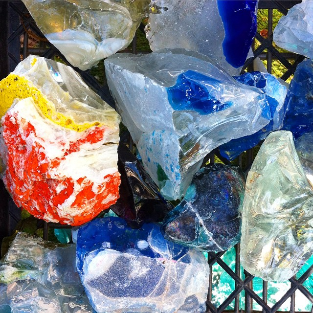 Crystal sights. #crystal #glass #color #translucence