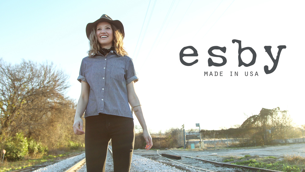 Click to view the Kickstarter Video for www.esbyapparel.com