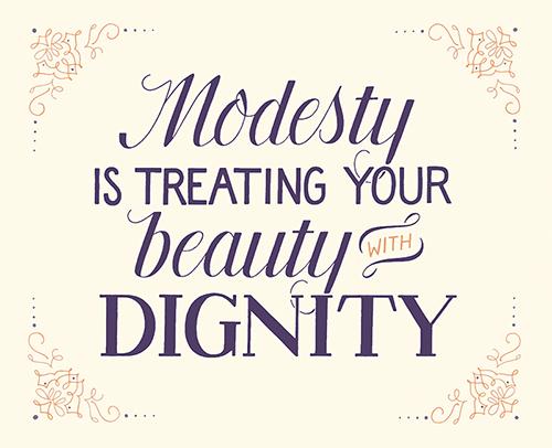 Bildresultat för modesty