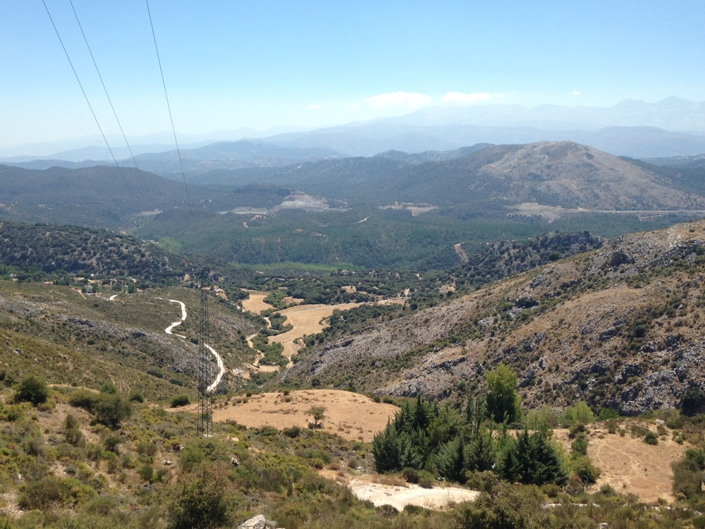View of Sierra Nevada