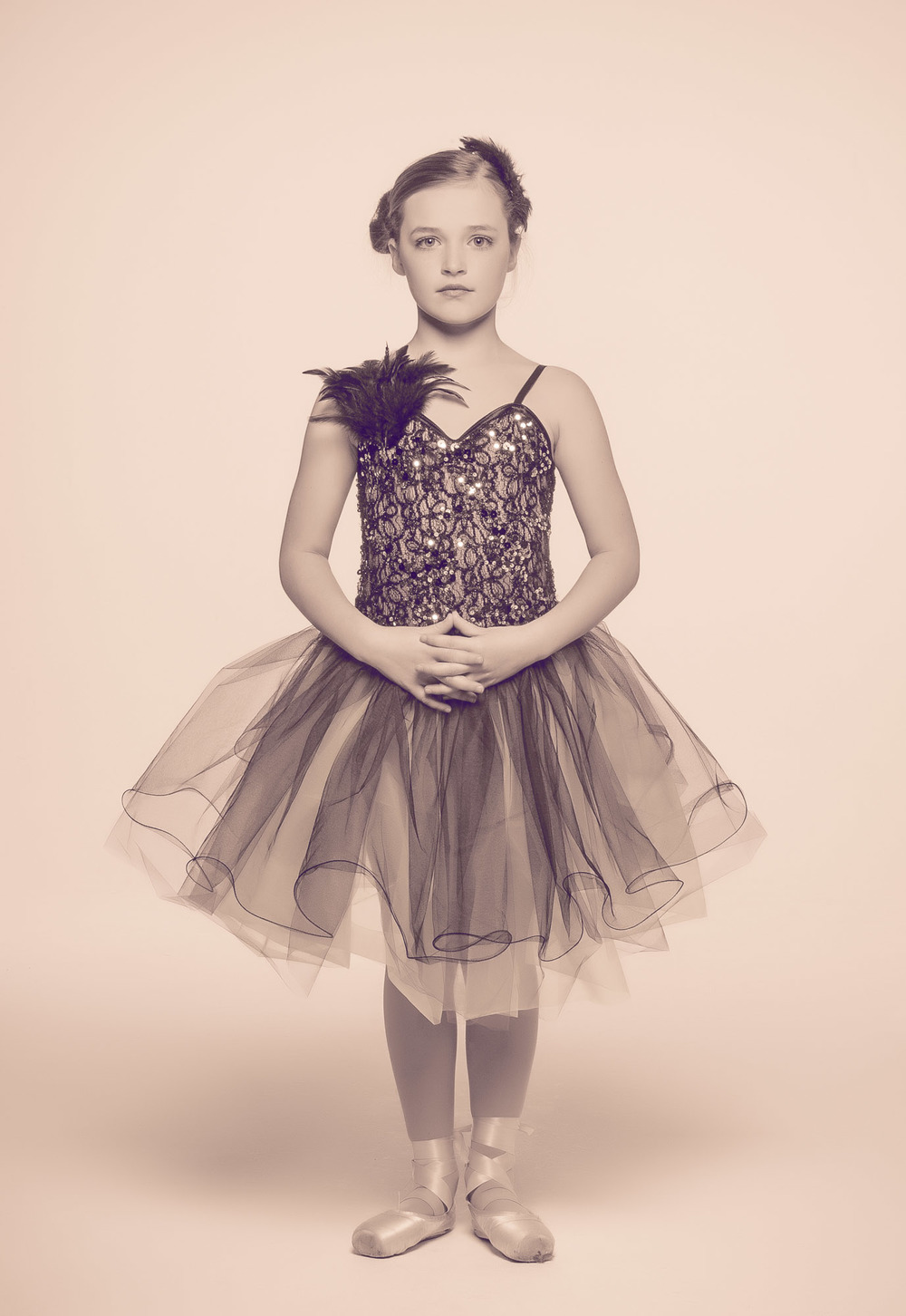 Tiny Dancer Ballet Portrait