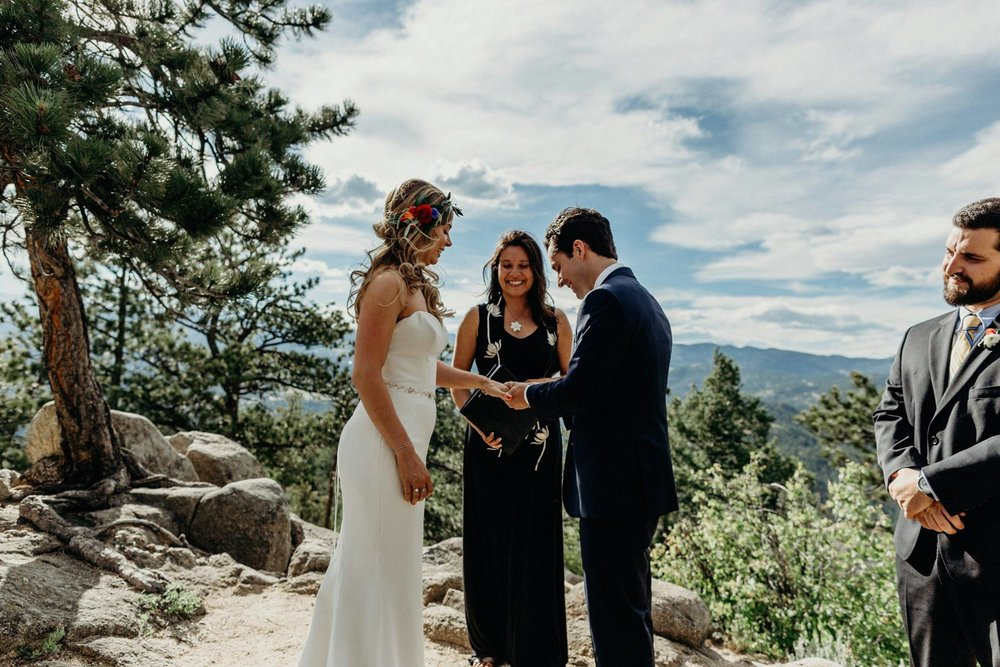 A simple colorado elopement!
