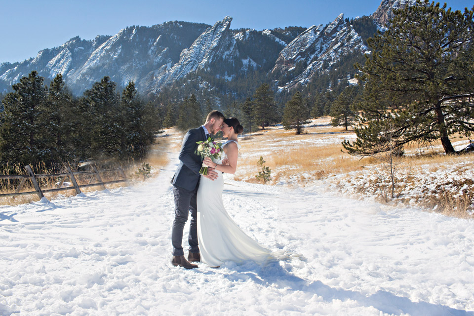 A photo from one of our Colorado elopement package locations