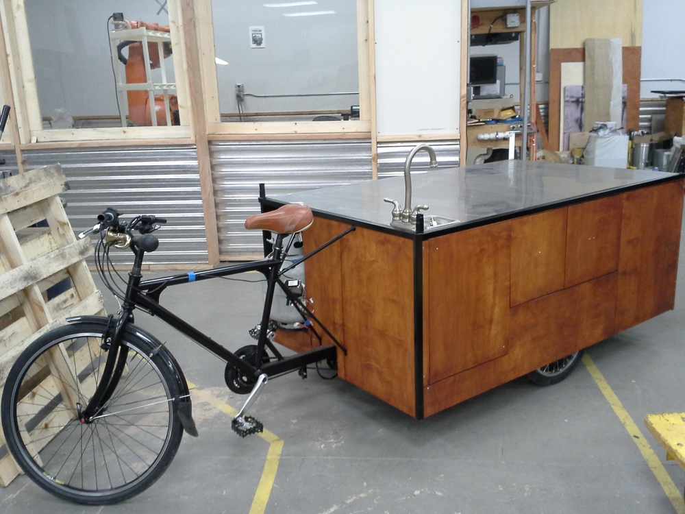 Velspresso Bike Cafe without any equipment