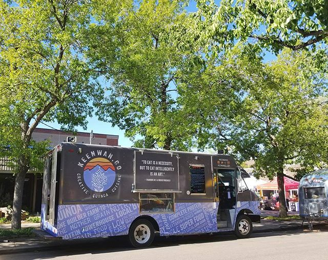 Good morning, Denver! We are back at the Old South Pearl Street Farmers Market to top off a beautiful weekend - see you there! #keenwahco #denverfoodie #foodtruck