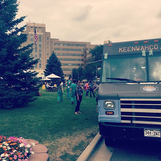 Slaying all day at Anschutz Medical Campus! We're here till 2! #anschutzmedicalcampus #quinoalovers #keenwahco