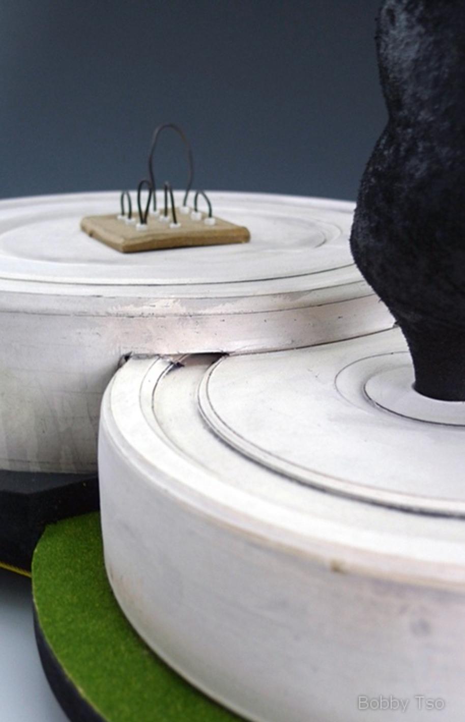 "Industrial landscape Series: ""Alpha"" (Detail)"