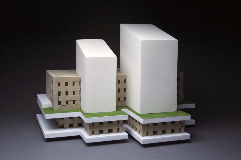 "Industrial landscape Series: ""Qoppa"""