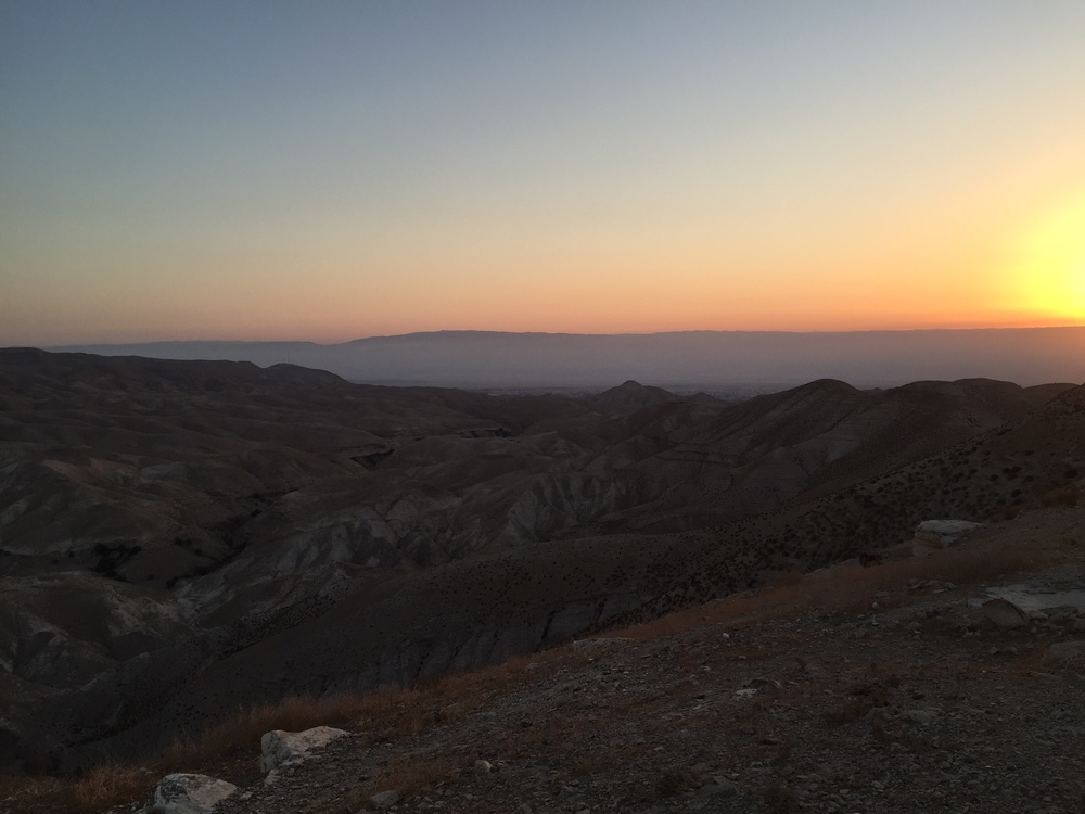 Day 5: Wadi Qelt  ,  Jericho, Nazareth