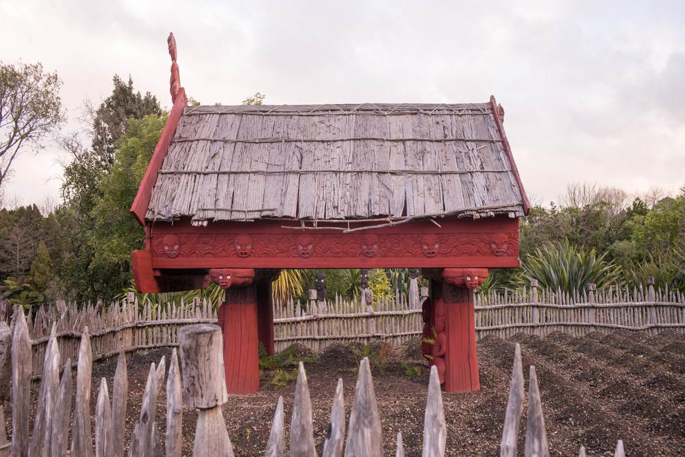"""Te Parapara Maori """"Productive"""" Garden"""