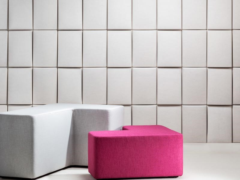Etonnant ... Sound Absorbing Materials, But With A Subtle Texture And Overlap That  Make The Wall Stand Out. Emphasize The Pattern With Color, Or Leave It In  Classic ...