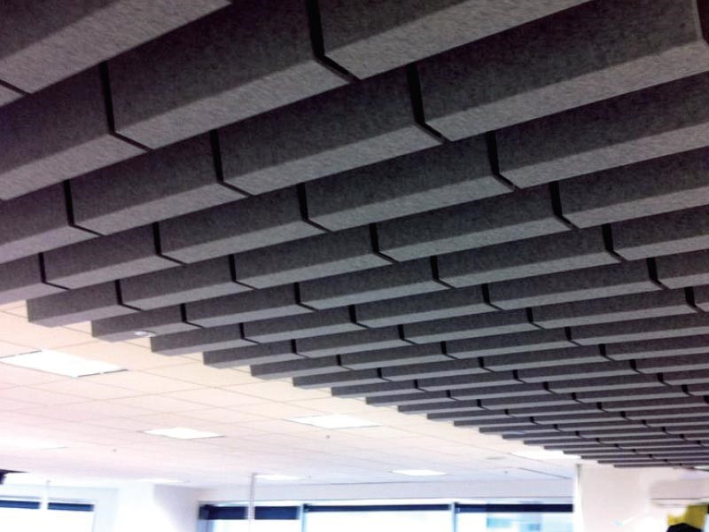 These decorative raised panels fit into the same ceiling grid that  traditional drop ceiling tiles do, but they add a lot more dimension and  interest to the ...
