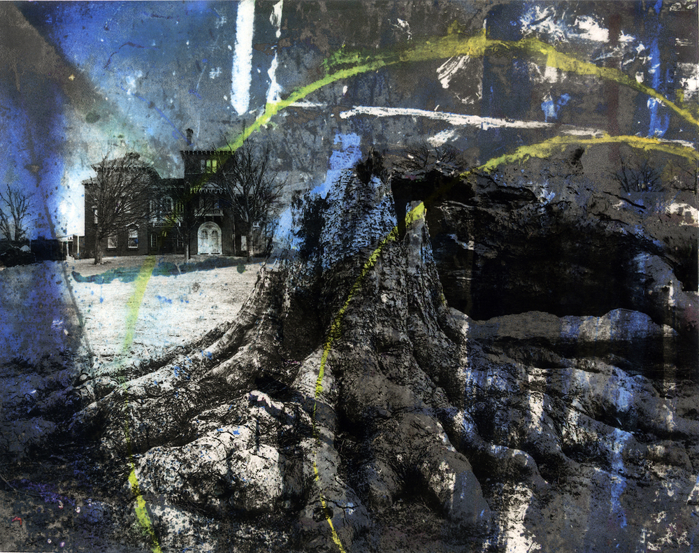 """""""Arc"""" 2013  solvent transfer and digital print  variable sizes available"""