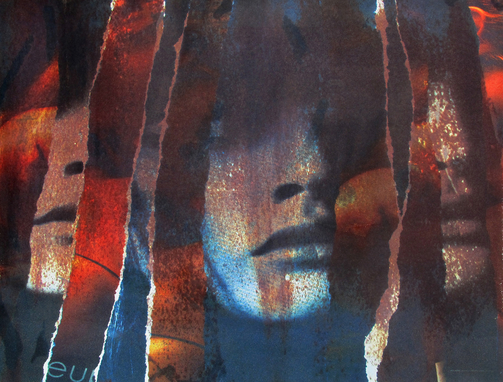 """""""Beauty"""" 2012  solvent transfer print  variable sizes available"""