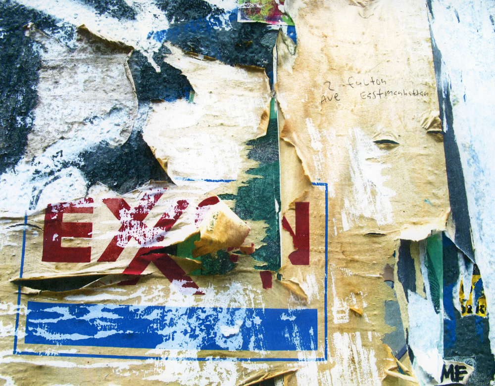 """""""2nd Ave. ll"""" 2012  solvent transfer print  variable sizes available"""