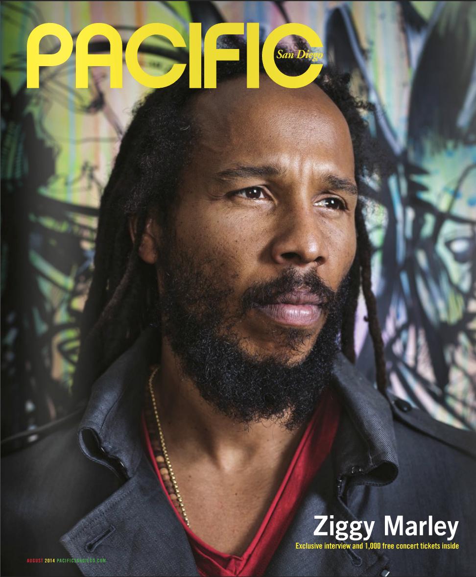 Ziggy Marley portrait/head shot