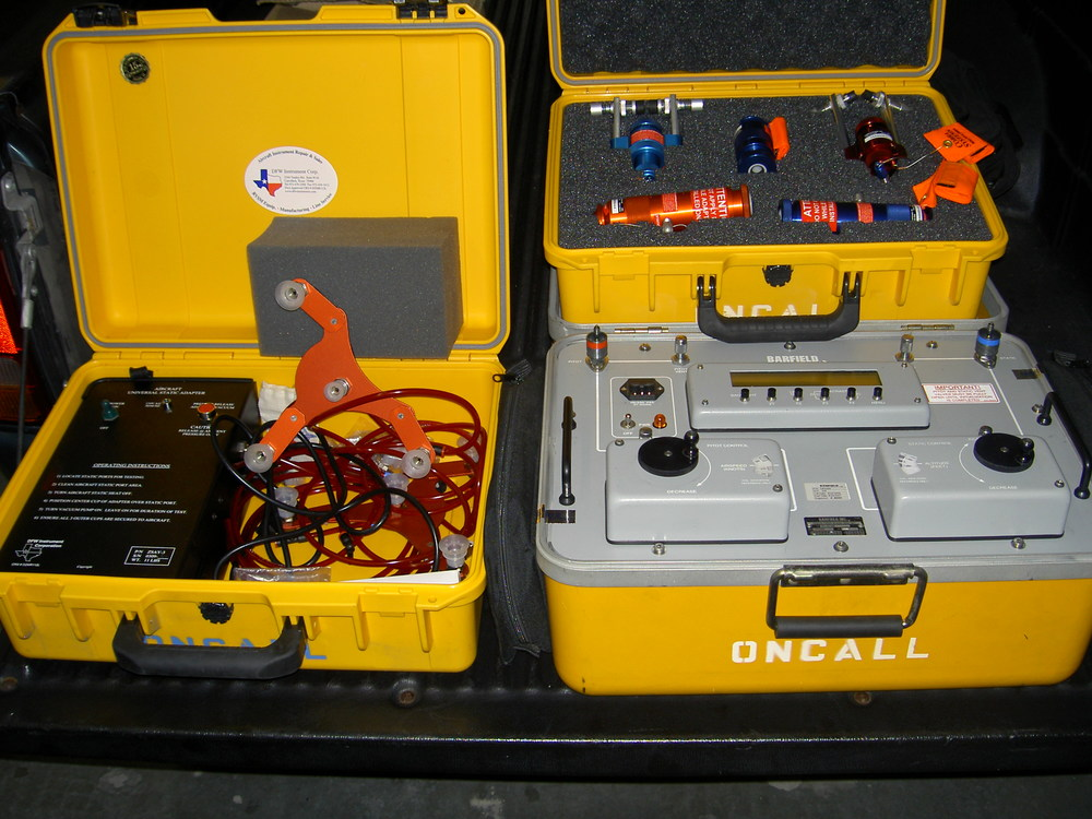 OnCall photo_Pitot static equip.JPG