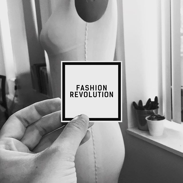 "This week we celebrate Fashion Revolution. A global movement calling for greater transparency, sustainability and ethics in the fashion industry. -""We want to unite the fashion industry and ignite a revolution to radically change the way our clothes are sourced, produced and purchased, so that what the world wears has been made in a safe, clean and fair way."" Yes to that!. #whomademyclothes #transparency #ethics #sustainability #fashion #revolution #evolution #safe #fair #work #future #nature"