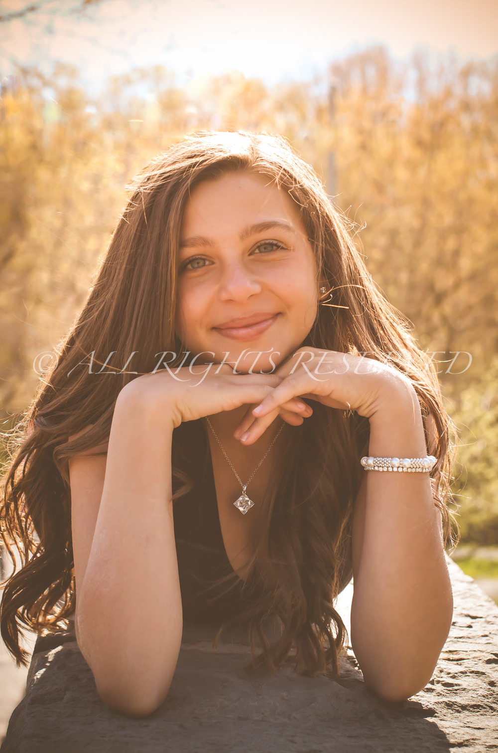 This photo was from Jordan K's Family Photo Shoot for her Bat Mitzvah. A lovely young lady, vibrant & beautiful!