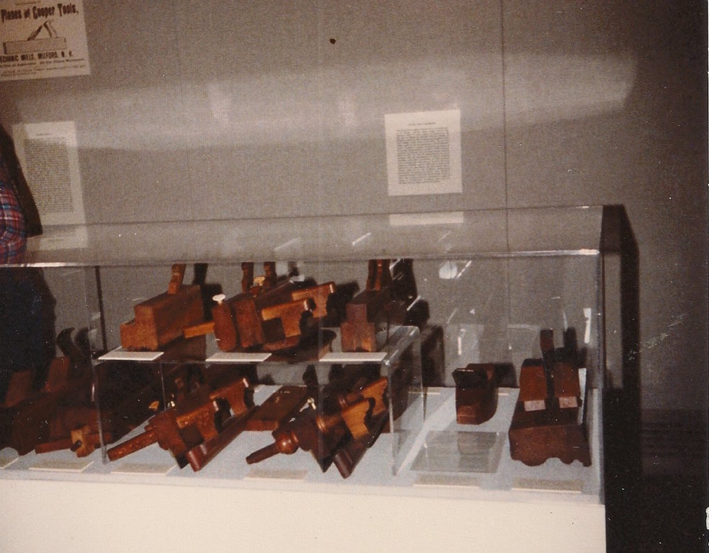 Displays of Wendall's Sanborne planes at the New Hampshire Historical Society