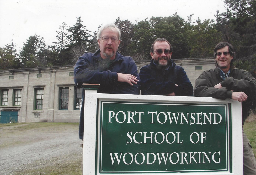 From left to right: founders John Marckworth, Tim Lawson, and jim tolpin, 2008