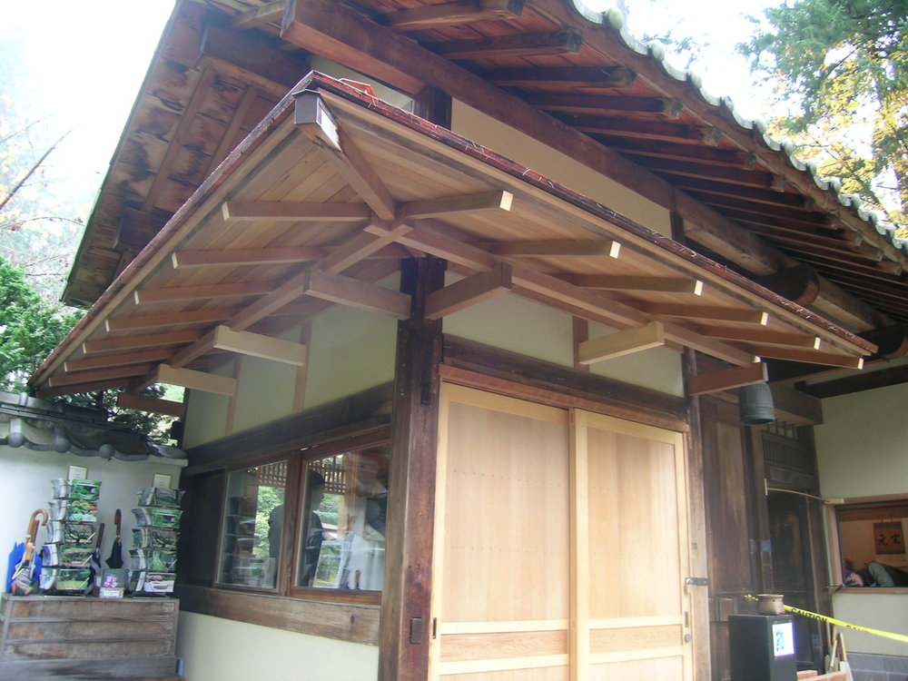 Japanese Hip Gable Construction