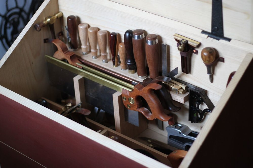 Dutch Tool Chest by Anne Briggs