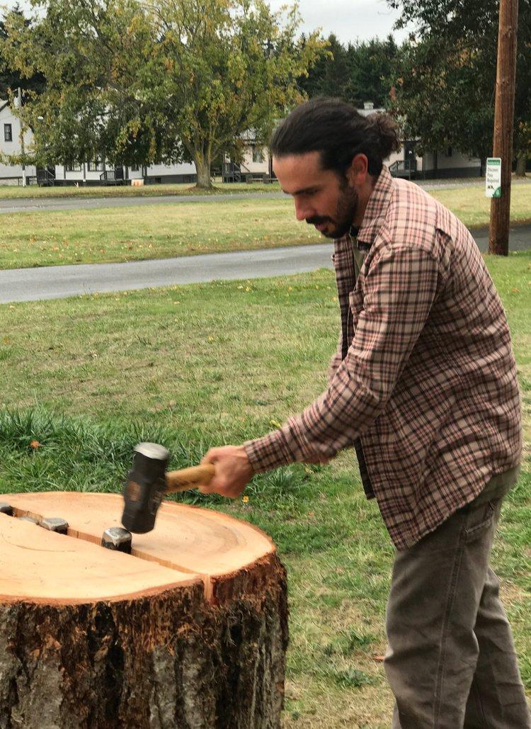 Matt Donaldson, Foundations of Woodworking Graduate