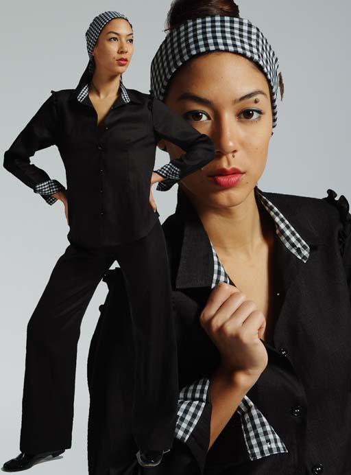 11+-+2+Black+long+sleeved+shirt+with+gingham+trim_1.jpg