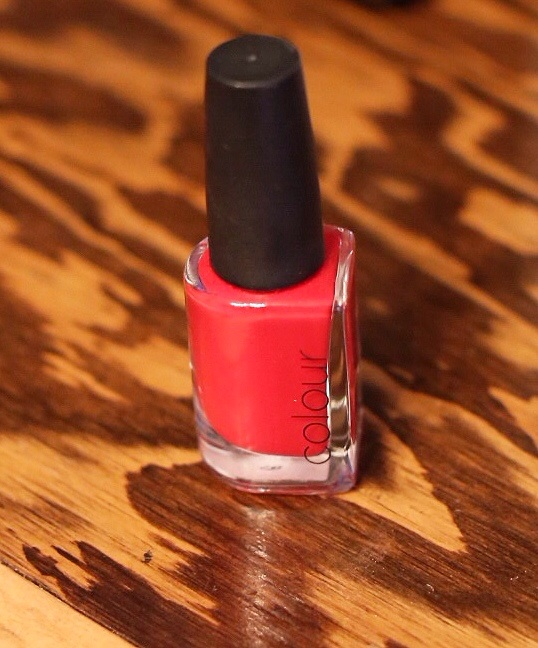 "All the way to the tips with ""Fireberry"" by CND."