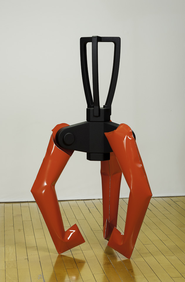 "RIGHT TOOL FOR THE JOB   2014 POLYCHROME INFLATED STEEL, MDF, RUBBER  36""x 62""x 36"""