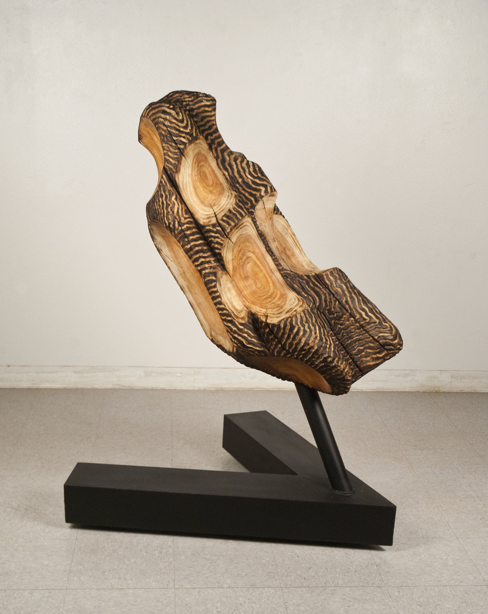 WOOD SCULPTURE  MY HERO:  ALISON CRAWTHER