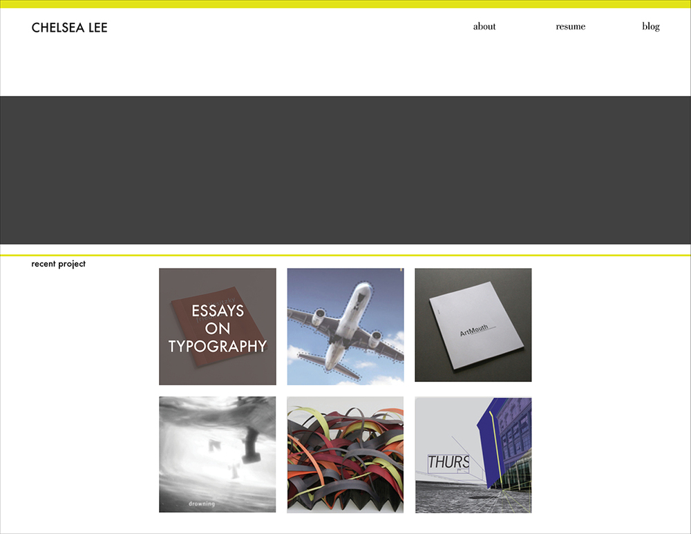 March 20: New site layout concept; getting a feel for what I want before I dive in.